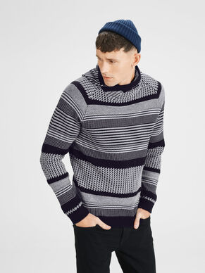 DETAILED KNITTED PULLOVER