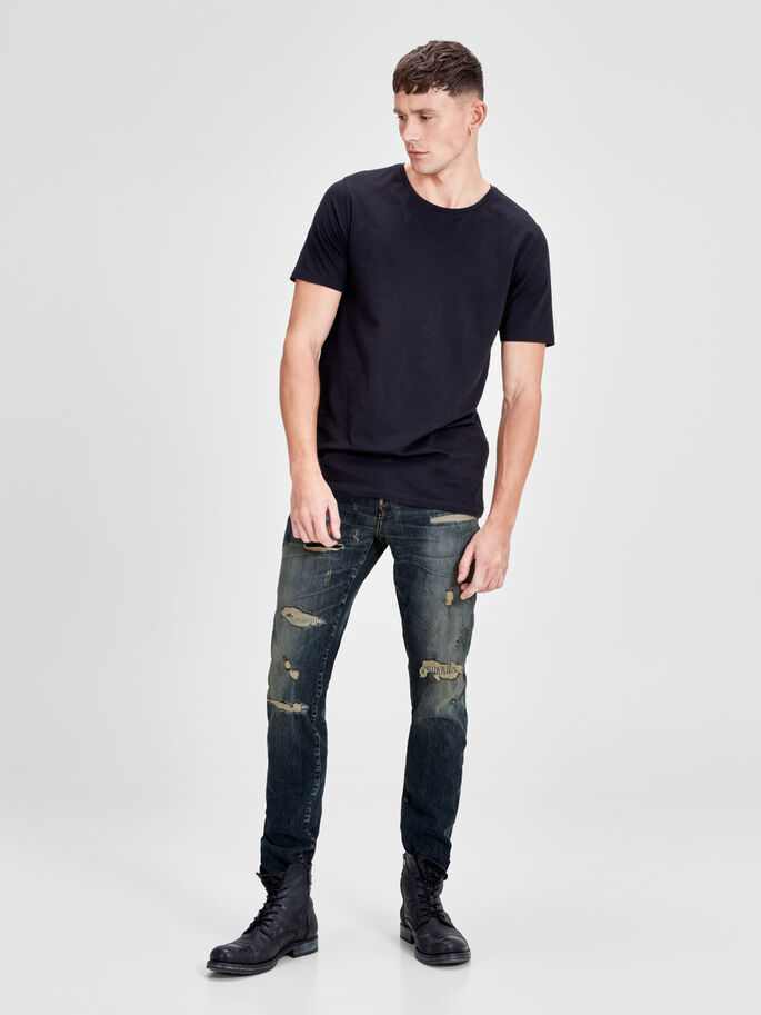 TIM PAGE BL 739 JEANS SLIM FIT, Blue Denim, large