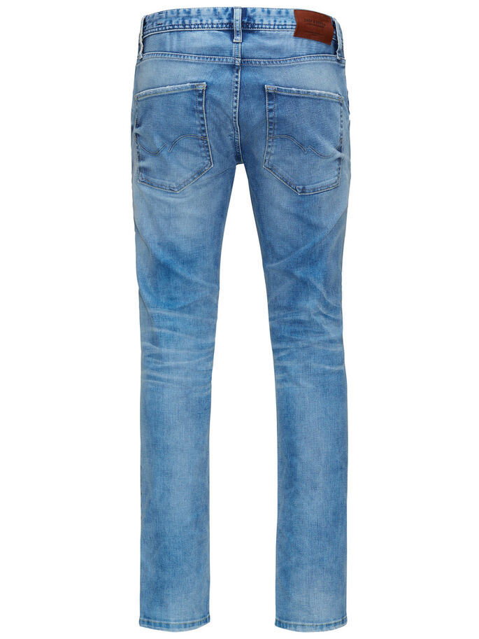 TIM ORIGINAL JOS 722 SLIM FIT JEANS, Blue Denim, large