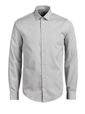 MICRO PATTERN LONG SLEEVED SHIRT