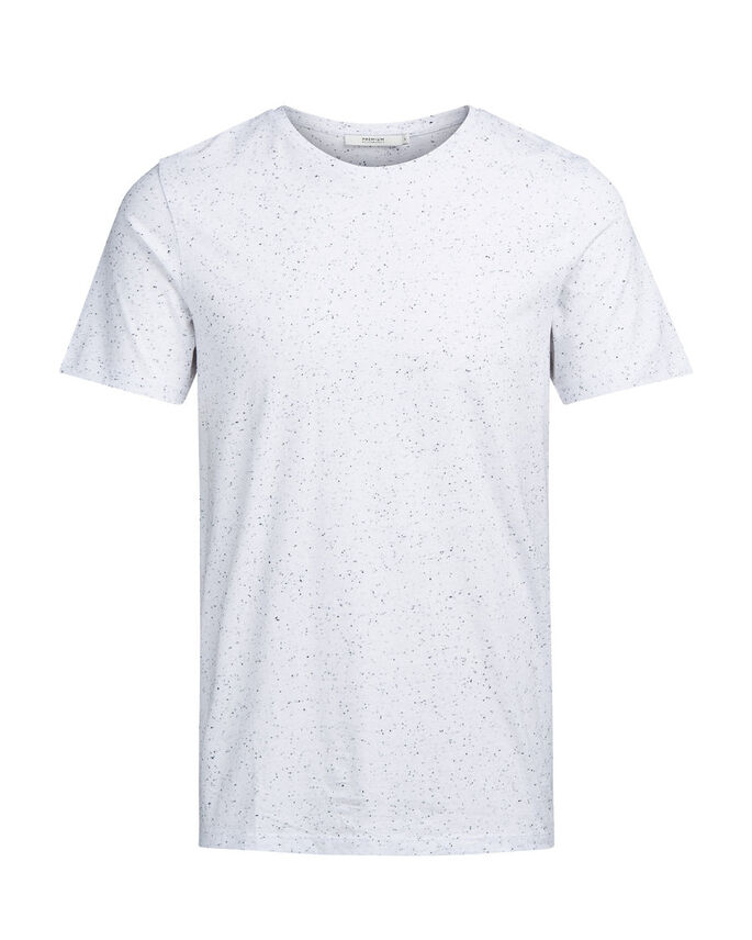 MELANGE- T-SHIRT, White, large