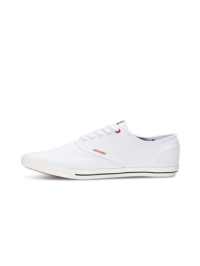 CANVAS- SPORTSCHUHE, Bright White, large