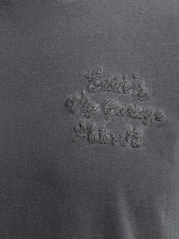 LÄSSIGES T-SHIRT, Caviar, large