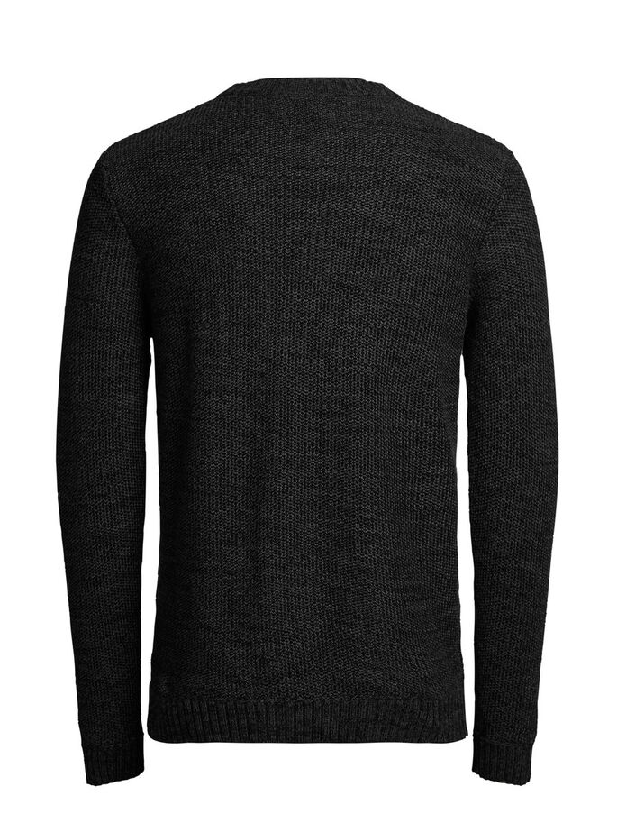 STRUCTURE PULLOVER, Black, large