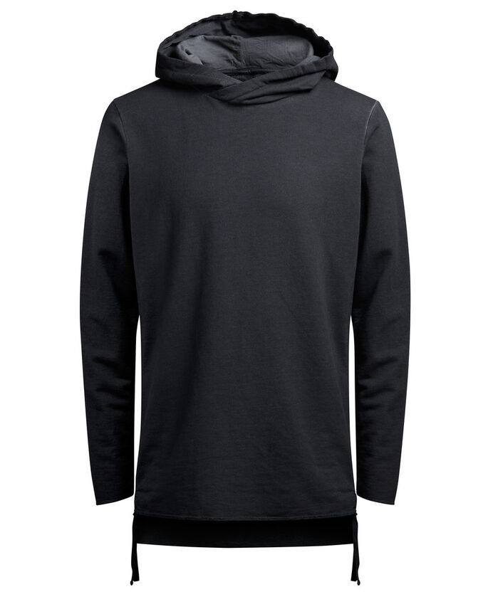 KLASSISCHER SWEAT- HOODIE, Black, large