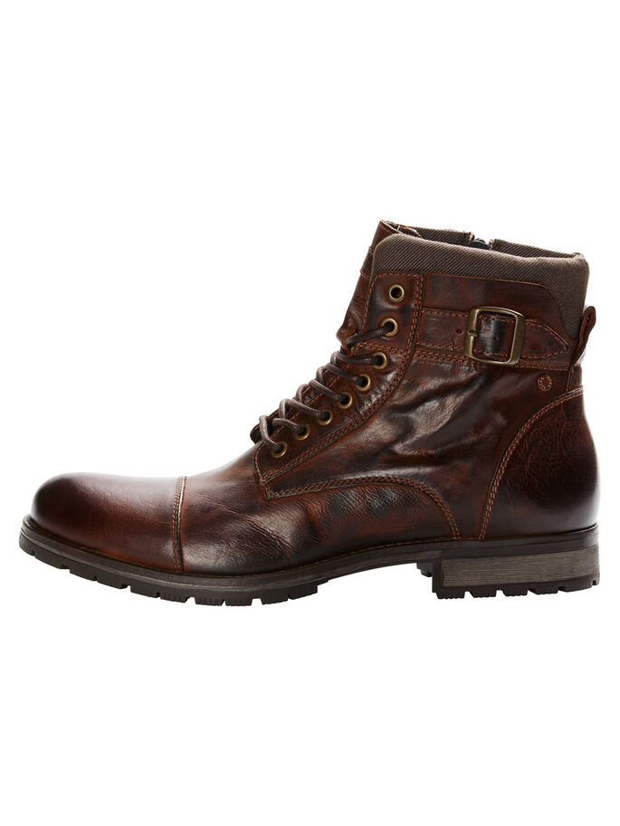 LÆR BOOTS, Brown Stone, large
