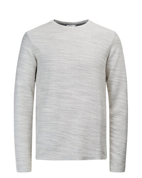 BOUCLETTE SUR L'ENVERS SWEAT-SHIRT