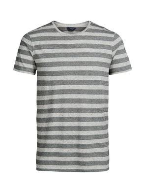 GESTREEPT SLIM FIT T-SHIRT