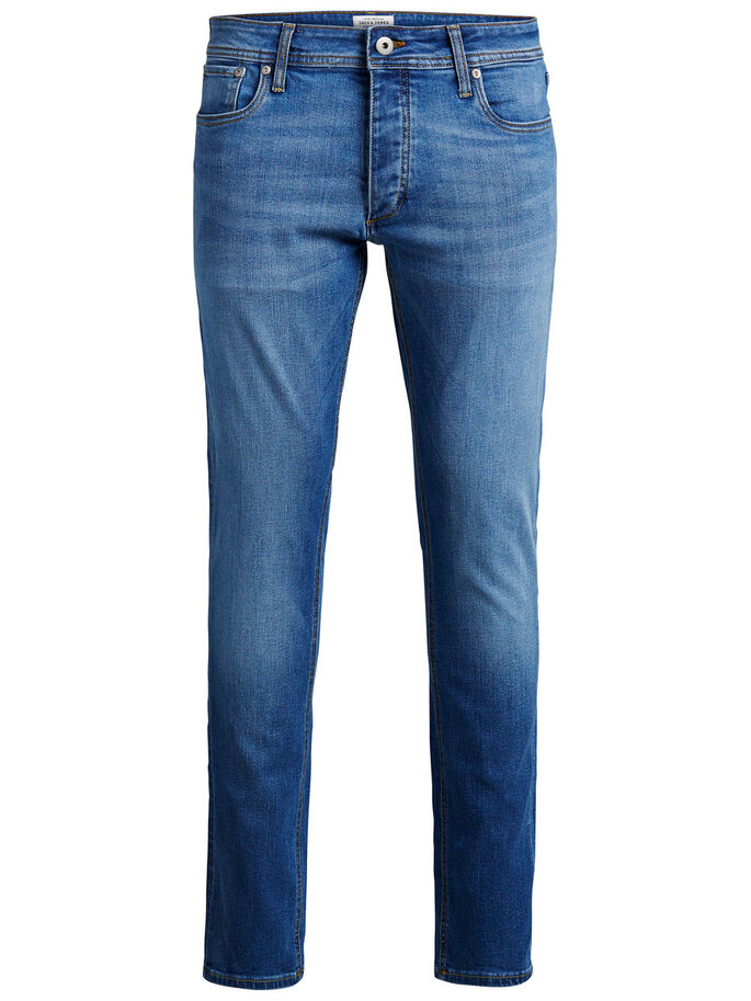 TIM ORIGINAL AM 020 JEAN SLIM, Blue Denim, large