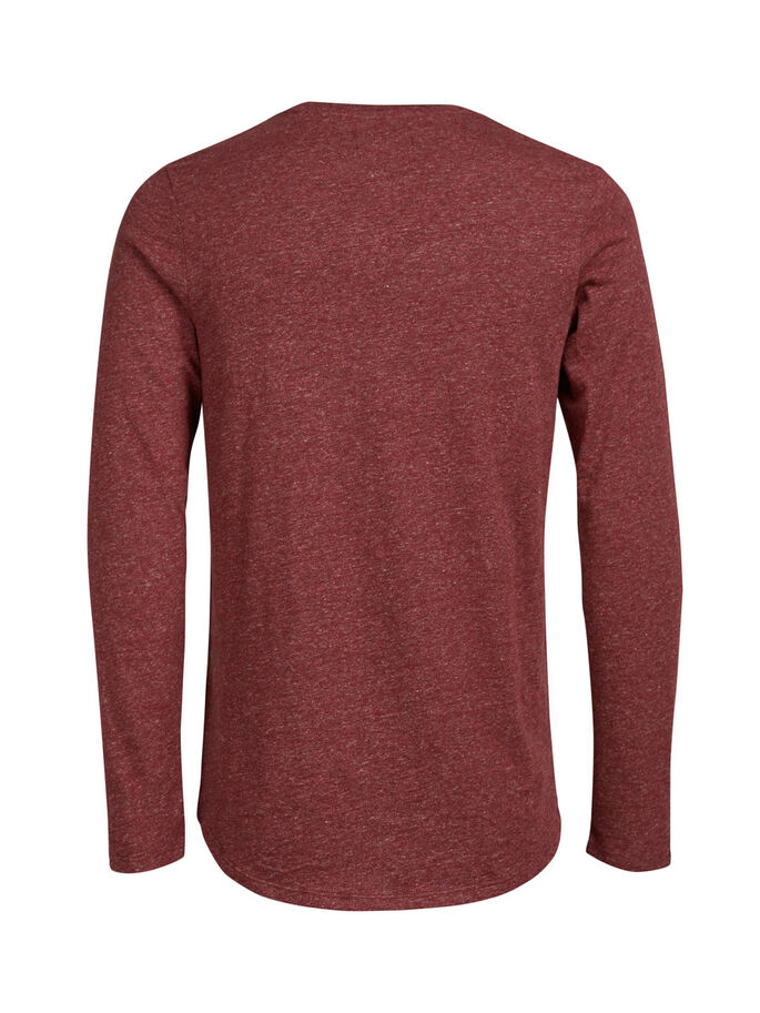 LONG-FIT LONG-SLEEVED T-SHIRT, Port_1, large