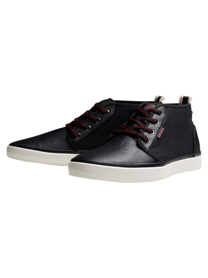 MID CUT SNEAKERS, Anthracite, large