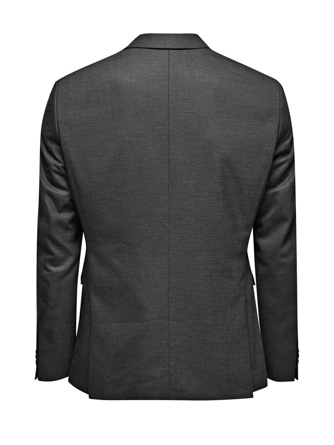 GRIJS BLAZER, Dark Grey, large