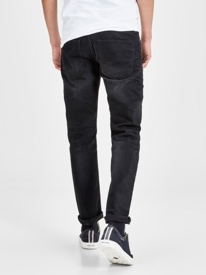MIKE ORIGINAL JOS 941 COMFORT FIT-JEANS, Black Denim, large