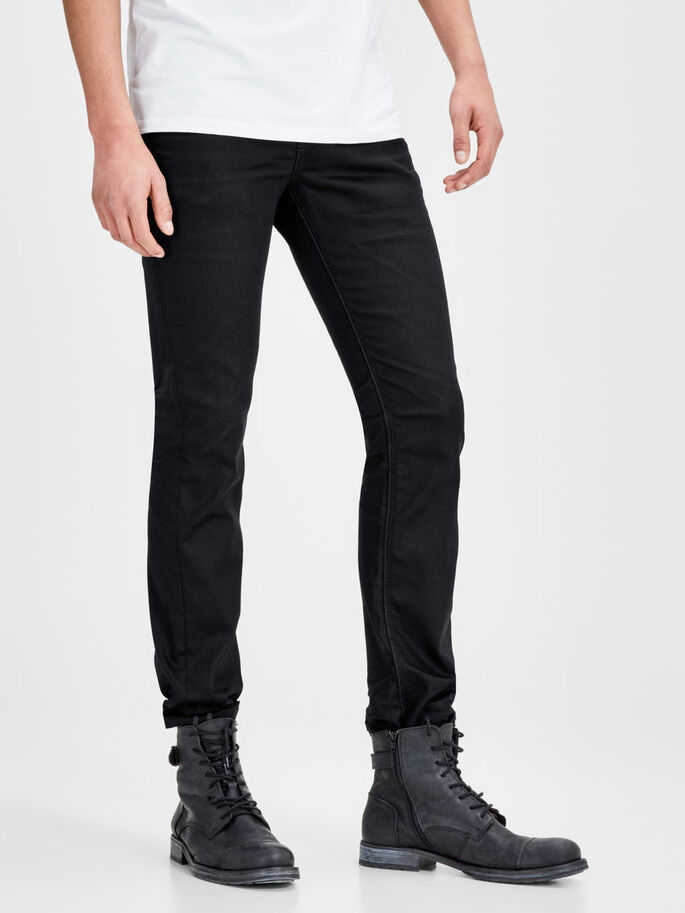 CLARK ORIGINAL JOS 935 REGULAR FIT -FARKUT, Black Denim, large