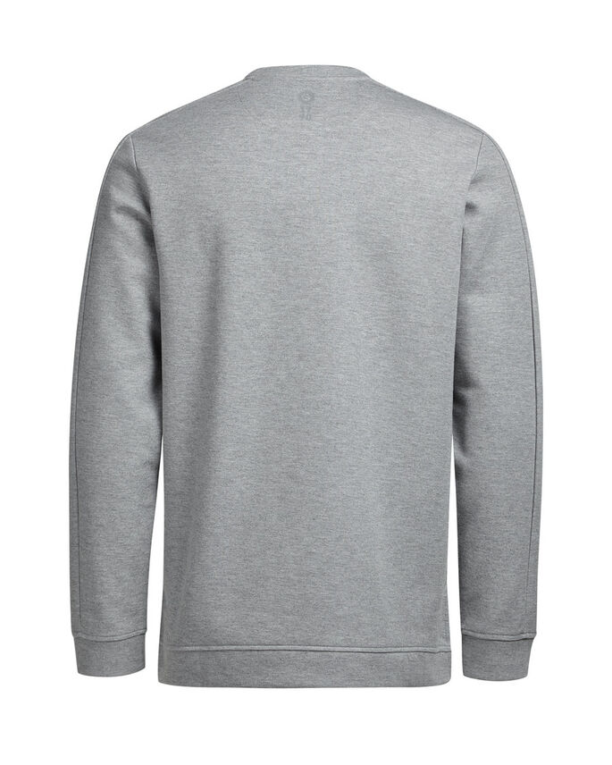 DE ESTILO GRÁFICO SUDADERA, Light Grey Melange, large