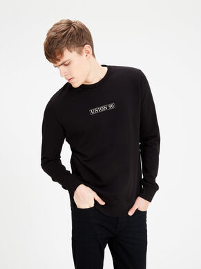 LONGER LENGTH SWEATSHIRT