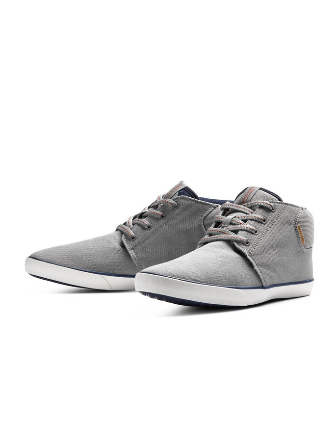CANVAS SCHOENEN, Frost Gray, large