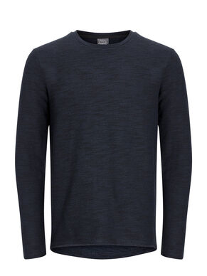 STRIKKET SWEATSHIRT