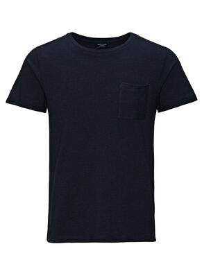 PATTERNED ONE POCKET T-SHIRT