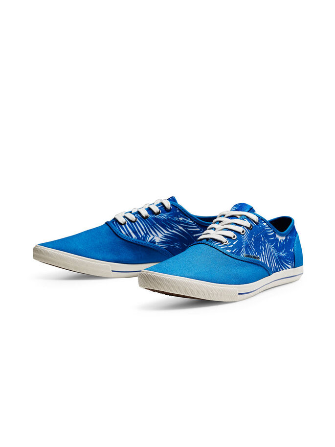 CANVAS TRAINERS, Imperial Blue, large