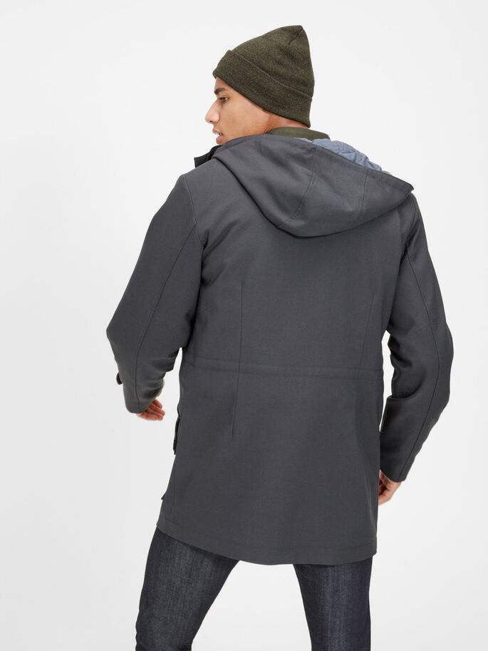 MINIMALISTIC JACKET, Blue Graphite, large