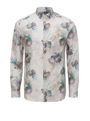 FLORAL PRINTED CASUAL SHIRT