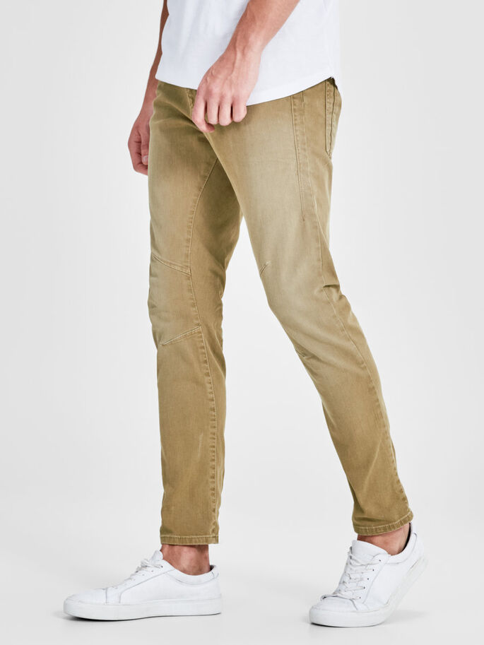 LUKE JOS 999 ANTI-FIT TROUSERS, Cornstalk, large