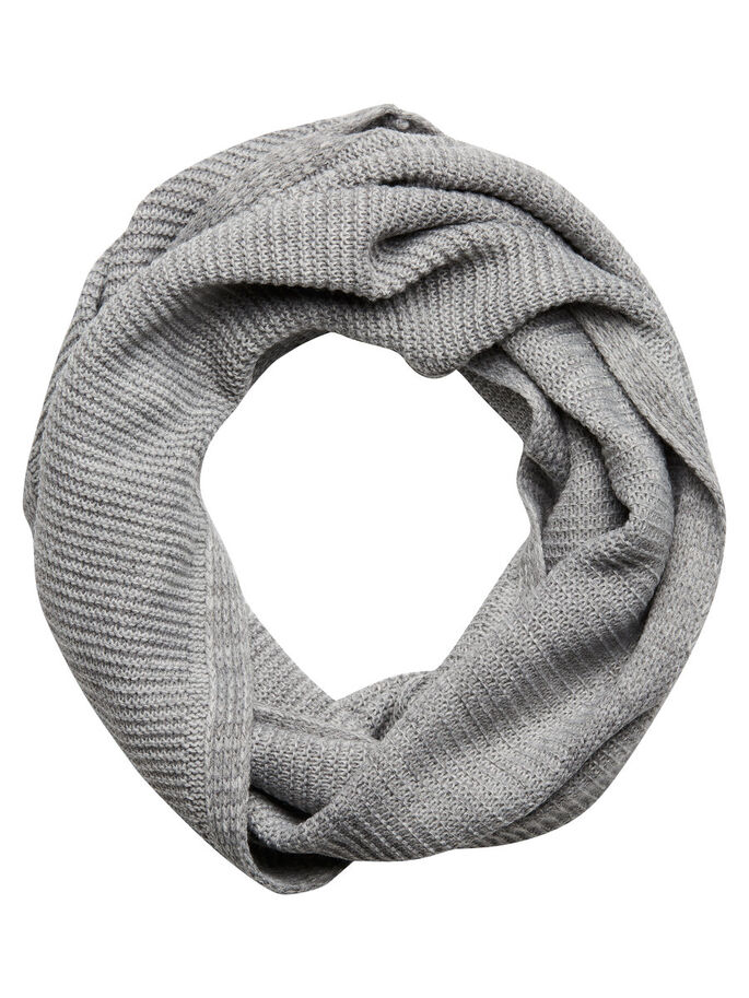 MÅNGSIDIG TUBHALSDUK, Light Grey Melange, large