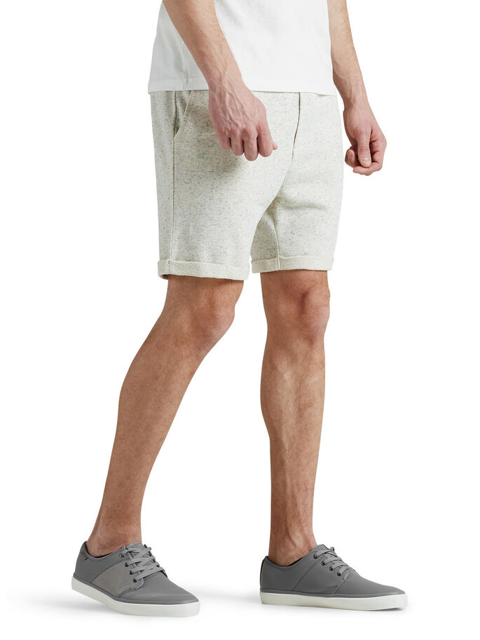 COMFORT FIT SWEATSHORTS, Treated White, large