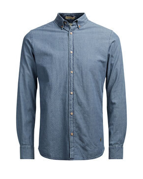 STRUCTURED DENIM SHIRT