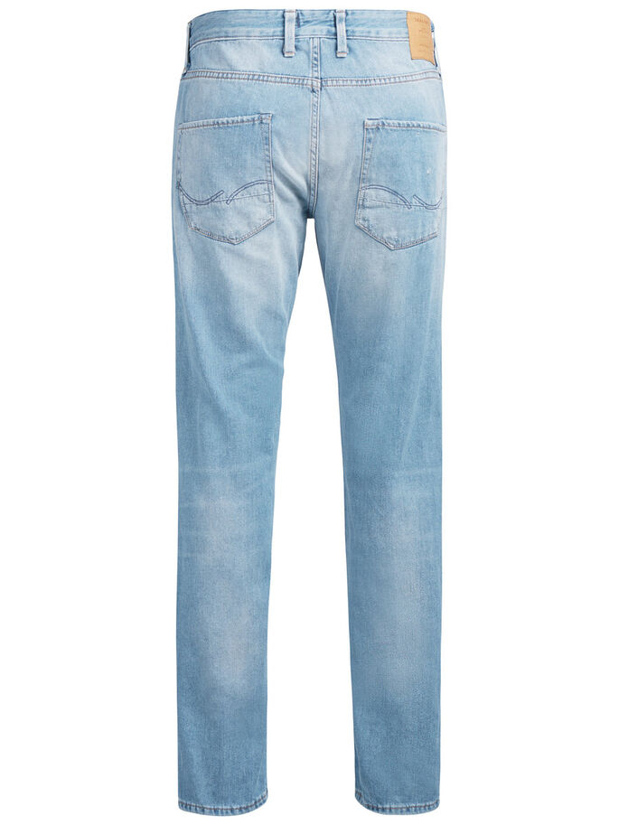 MIKE VINTAGE BL 734 JEANS, Blue Denim, large