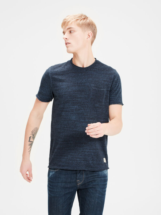 BRUT T-SHIRT, Mood Indigo, large