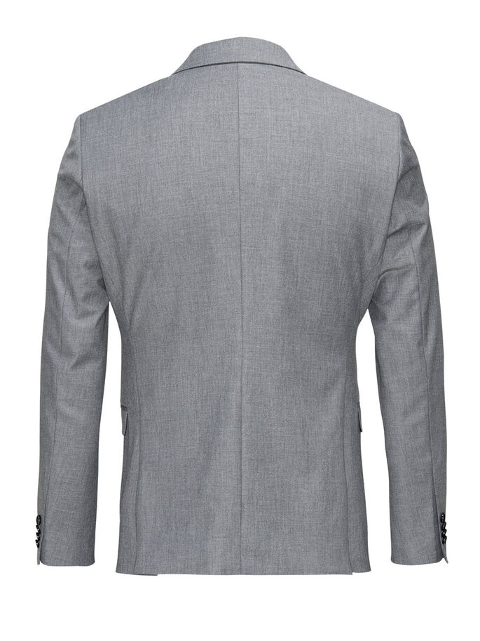 MÉLANGE SUTIL - BLAZER, Dark Grey, large