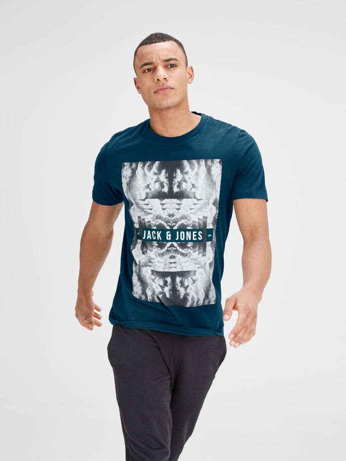 FOTOPRINT T-SHIRT, Reflecting Pond, large