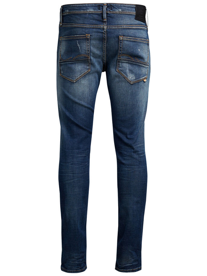 GLENN FOX BL 683 JEANS SLIM FIT, Blue Denim, large