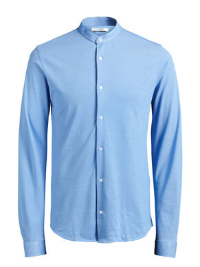 PIQUE MAO LONG SLEEVED SHIRT