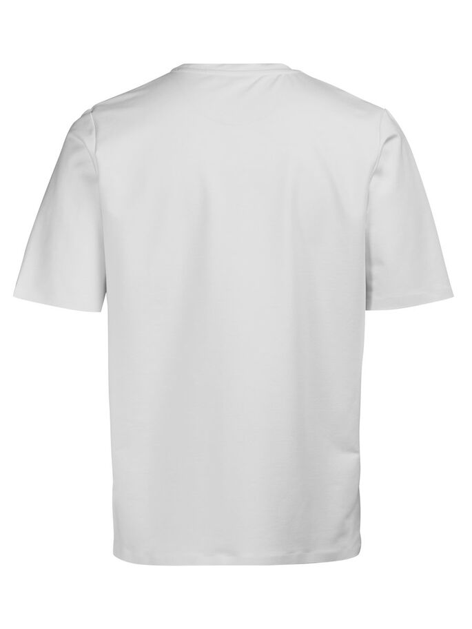 SHORT-SLEEVED T-SHIRT, White, large