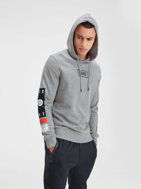 GRAPHIQUE SWEAT À CAPUCHE