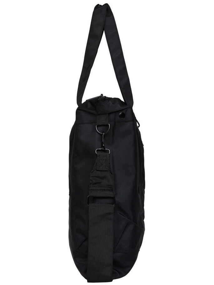 TRAGE- TASCHE, Black, large