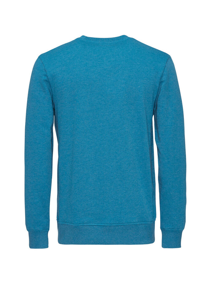 CASUAL SWEATSHIRT, Mykonos Blue, large