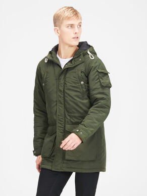 PADDED PARKA COAT