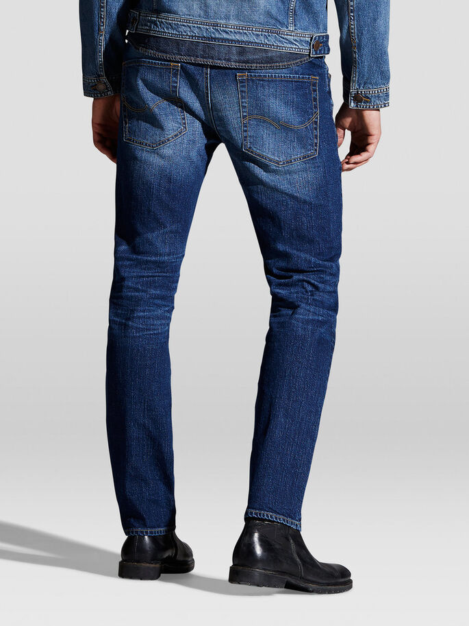 TIM ORIGINAL AM 012 JEAN SLIM, Blue Denim, large