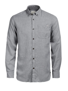 BUTTON-DOWN- LANGARMHEMD