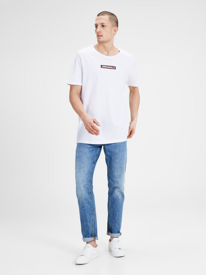 GRAPHIC T-SHIRT, White, large