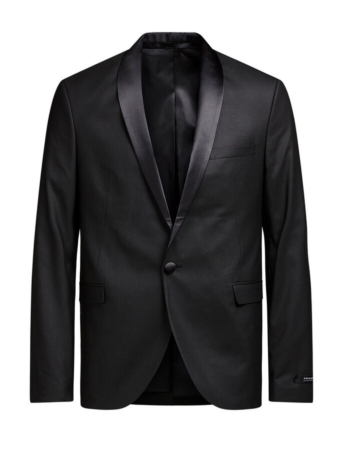 SMOKING BLAZER, Black, large