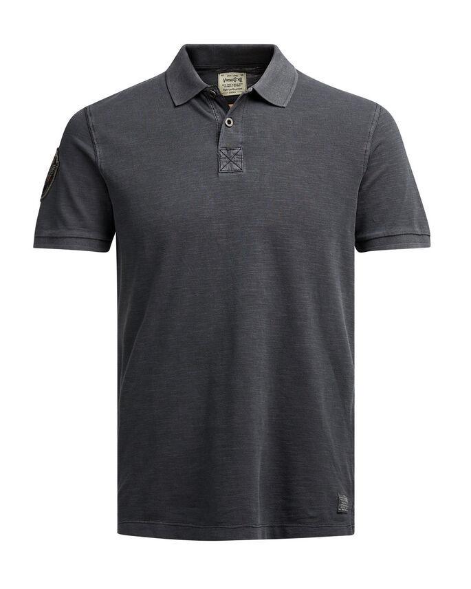 CASUAL POLO SHIRT, Caviar, large