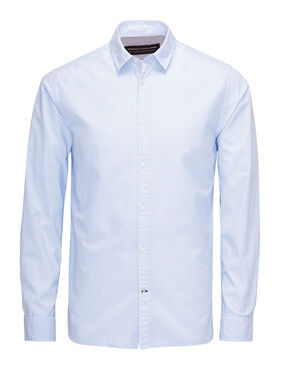 SMART-CASUAL POPLIN BUSINESS SHIRT