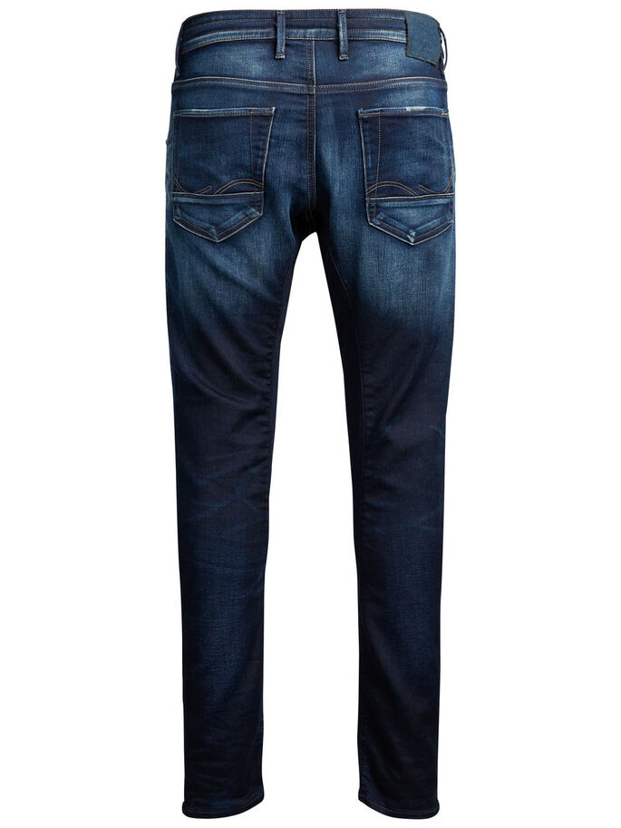SIMON CLAY BL 666 JEAN SLIM, Blue Denim, large
