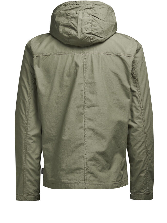 LIGERA CHAQUETA, Dusty Olive, large
