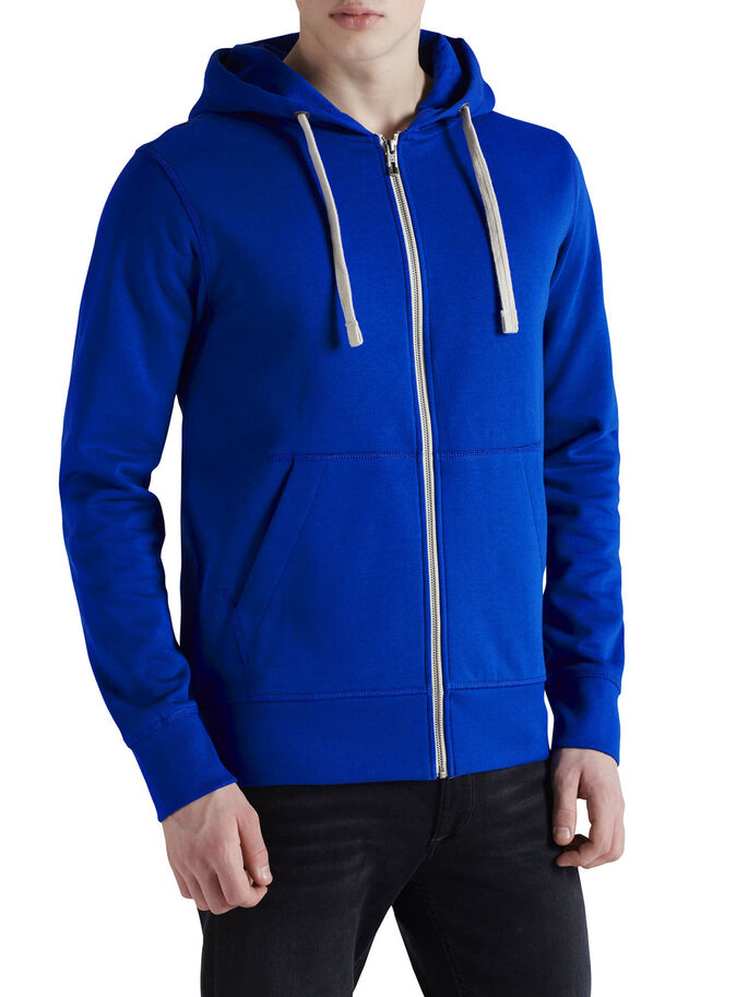 ZIPPED HOODIE, Surf the Web, large
